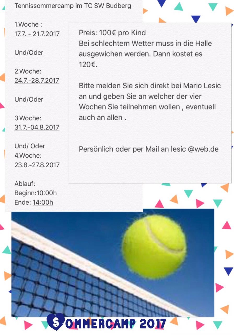 Tennissommercamp2017